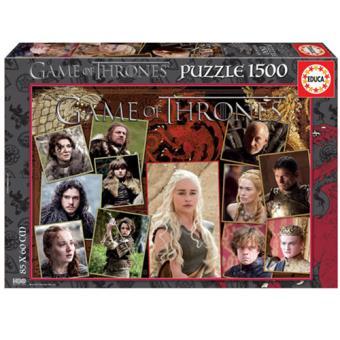 Puzzle A Guerra dos Tronos - 1500 Peças - Educa