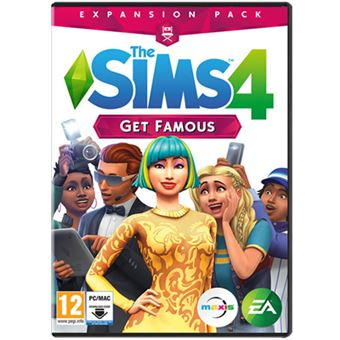 The Sims 4 Get Famous Expansion Pack - Code in a Box - PC