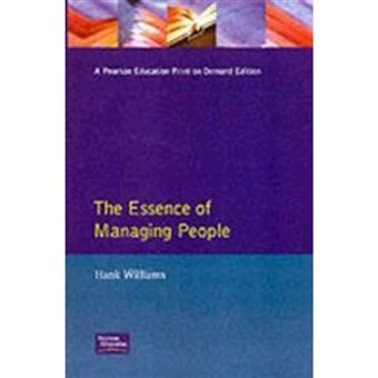 Essence managing people