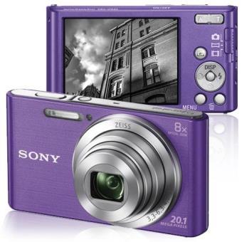 Sony Cyber-shot DSC-W830V (Violeta) - Câmara Digital Compacta ... ef7e27da15