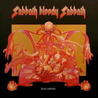 Black Sabbath - Sabbath Bloody - Framed Album Cover