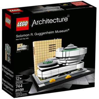 LEGO Architecture 21035 Museu Solomon R. Guggenheim
