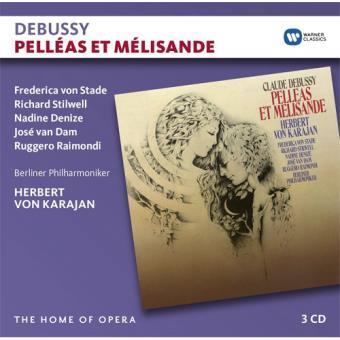Debussy: Pelléas et Mélisande - CD