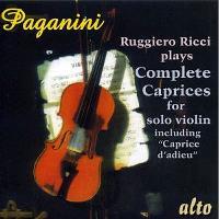 Paganini-caprichos Para Violin Solo