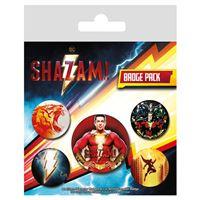 Conjunto de Pins Shazam