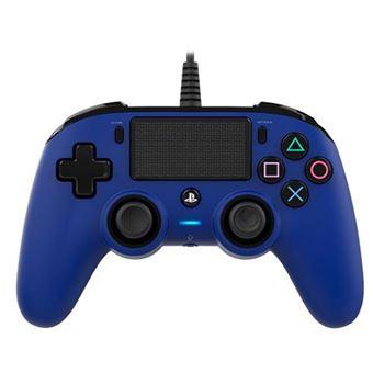 Comando com Fio Nancon para PS4 - Azul