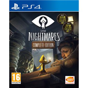 LITTLE NIGHTMARES COMPL EDT PS4