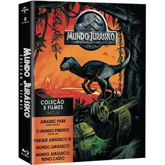 Pack Mundo Jurássico - Coleção 5 Filmes - Blu-ray