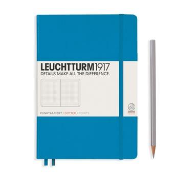 Caderno Pontilhado Leuchtturm A5 - Azul