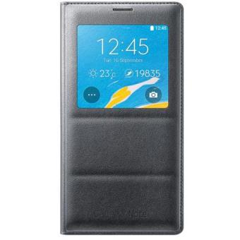 b3b38cc83 Samsung Capa S View para Galaxy Note 4 (Preta) - Bolsa Telemóvel ...