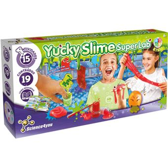 Yucky Slime Super Lab - Science4you