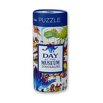 Puzzle Day The Museum Dinosaurs - 72 Peças - Crocodile Creek
