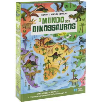 Conhece, Aprende, Explora: O Mundo dos Dinossauros