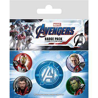 Conjunto de Pins Marvel: Avengers Endgame