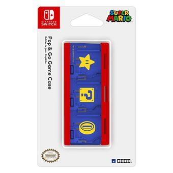 Hori Pop & Go Game Case Mario Edition - Nintendo Switch
