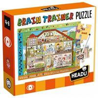 Brain Trainer Puzzle - Headu