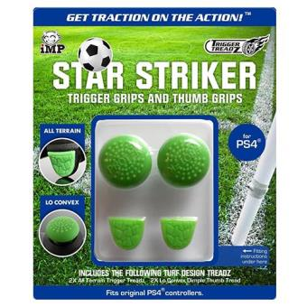 Trigger Treadz Star Striker Thumb & Trigger Grips Pack PS4