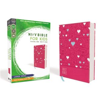 Nirv, bible for kids, large print,