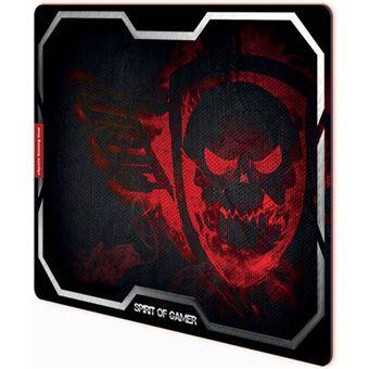 Tapete Rato Spirit Of Gamer Skull XL - Vermelho