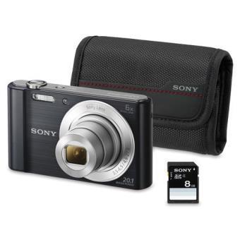 Sony Cyber-shot DSC-W810B + Kit (Preto)