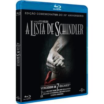 A Lista de Schindler - 20º Aniversário