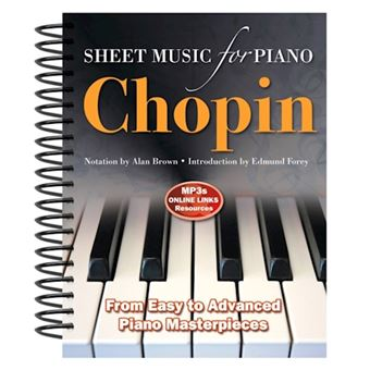 Frederic chopin: sheet music for pi