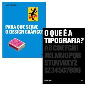 Pack Design: «O Que é a Tipografia?» + «Para que Serve o Design Gráfico?»