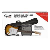 Pack Guitarra Eléctrica Squier Strat SSS BSB GB 10G