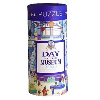 Puzzle Day at The Museum Space - 72 Peças - Crocodile Creek