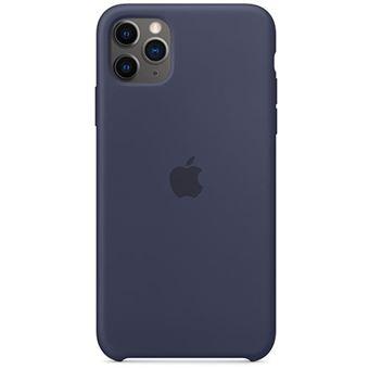 Capa Silicone Apple para iPhone 11 Pro Max - Azul Meia Noite