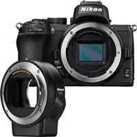 Nikon Z50 + Adaptador FTZ