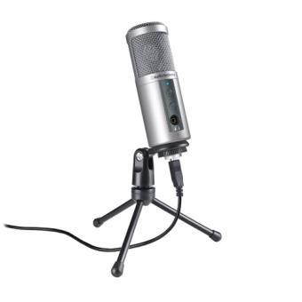 Microfone ATR2500-USB Audio-technica