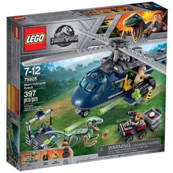 LEGO Jurassic World 75928 A Perseguição de Helicóptero de Blue