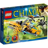 Avião de Duas Hélices de Lavertus (LEGO Legends of Chima 70129)