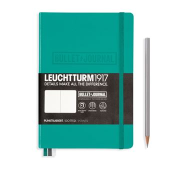 Caderno Bullet Journal Pontilhado Leuchtturm A5 - Esmeralda