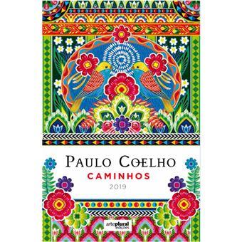 Agenda Semanal 2019 Paulo Coelho: Caminhos A5
