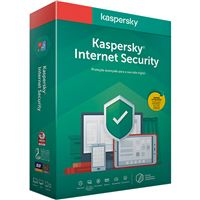 Antivírus Kaspersky Internet Security 2020 - 1 Dispositivos | 1 Ano
