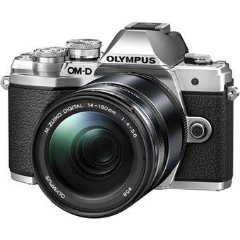 Olympus OM-D E-M10 Mark III + M.Zuiko Digital ED 14-150mm f/4-5.6 II - Prateado
