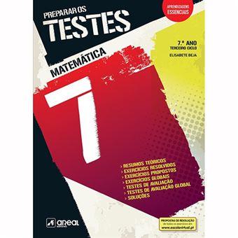 Preparar os Testes - Matemática - 7.º Ano