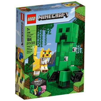 LEGO Minecraft 21156 Bigfig Creeper e Ocelote