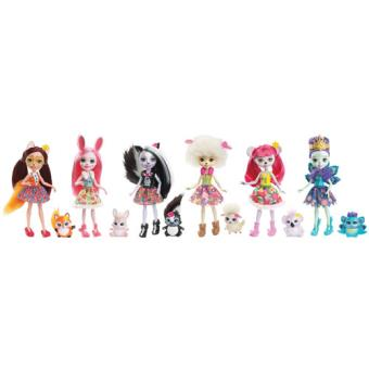 Bonecas Animais Enchantimals - Mattel - Envio Aleatório