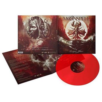 Scorpion Flower - LP 10'' Transparent Red Vinil