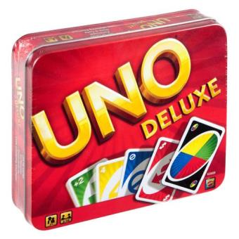 UNO Deluxe Tin - Europe