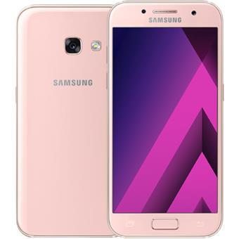 samsung galaxy a3 2017 a320f rosa smartphone android compra na. Black Bedroom Furniture Sets. Home Design Ideas