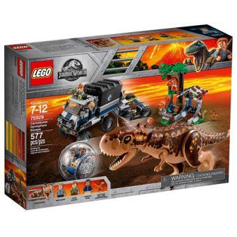LEGO Jurassic World 75929 A Fuga na Girosfera ao Carnotauro