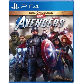 Marvel Avengers Deluxe - PS4
