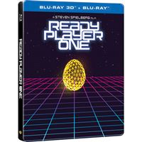 Ready Player One: Jogador 1 - Edição Steelbook - Blu-ray 3D + 2D
