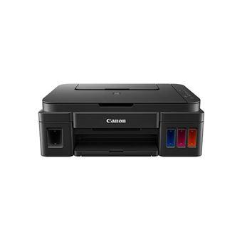Impressora Multifunções Jacto de Tinta Canon G2501 - Preto + Tinteiro Preto Extra