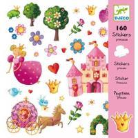 Djeco Autocolantes - Princesa Marguerite