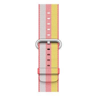 Apple Bracelete em tecido de nylon vermelha (38 mm)